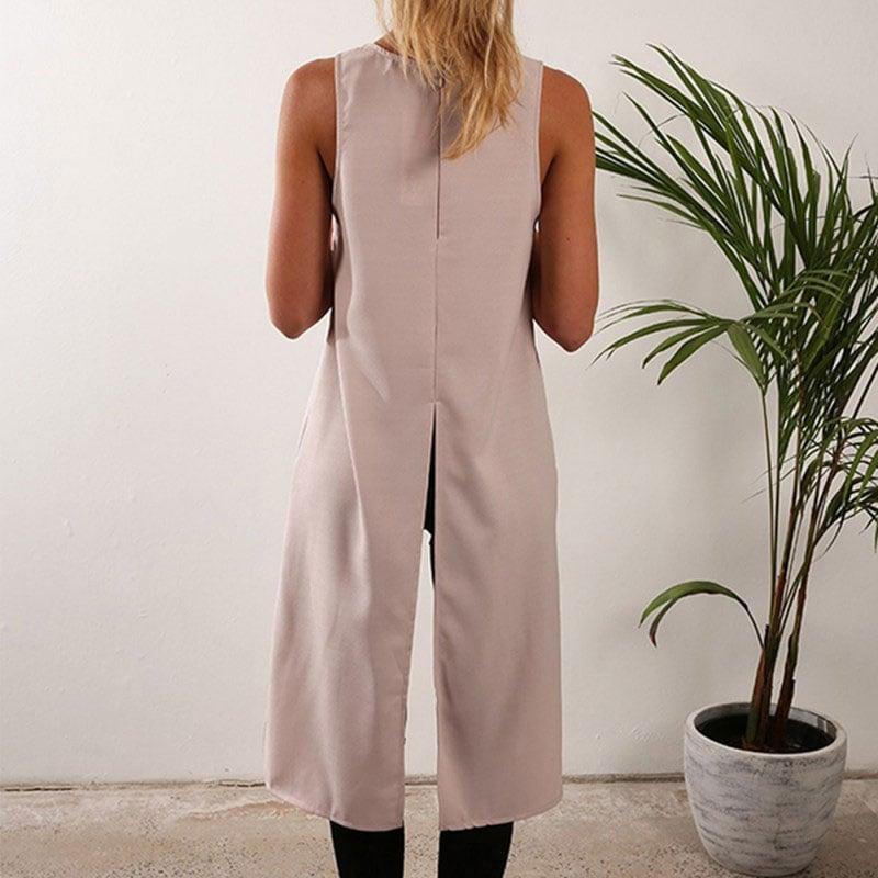 M0264 khaki2 Blouses Tops Shirts maureens.com boutique