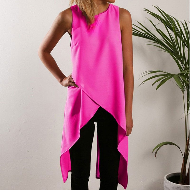 M0264 pink1 Blouses Tops Shirts maureens.com boutique