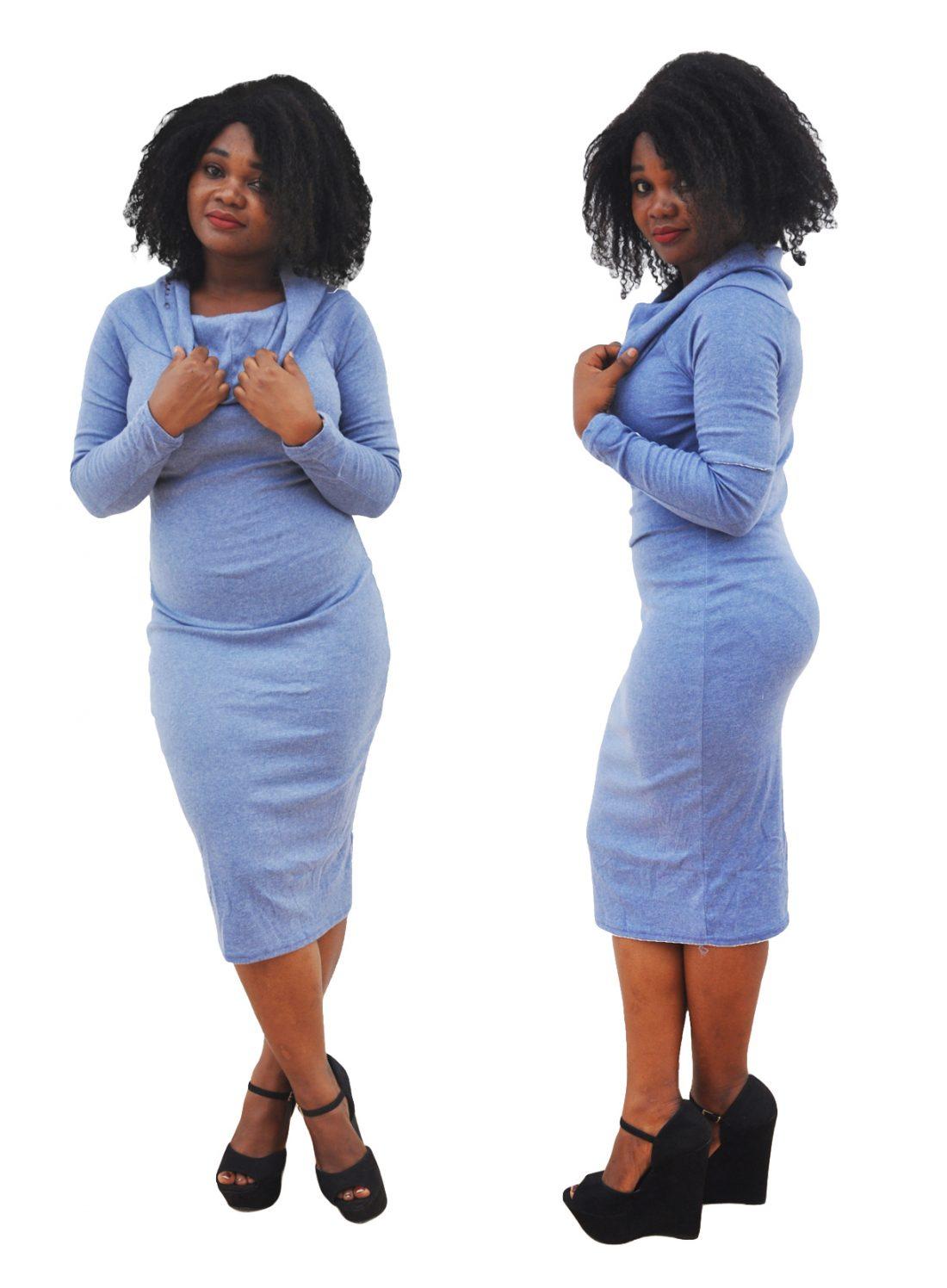 M0268 blue1 Long Sleeve Dresses maureens.com boutique