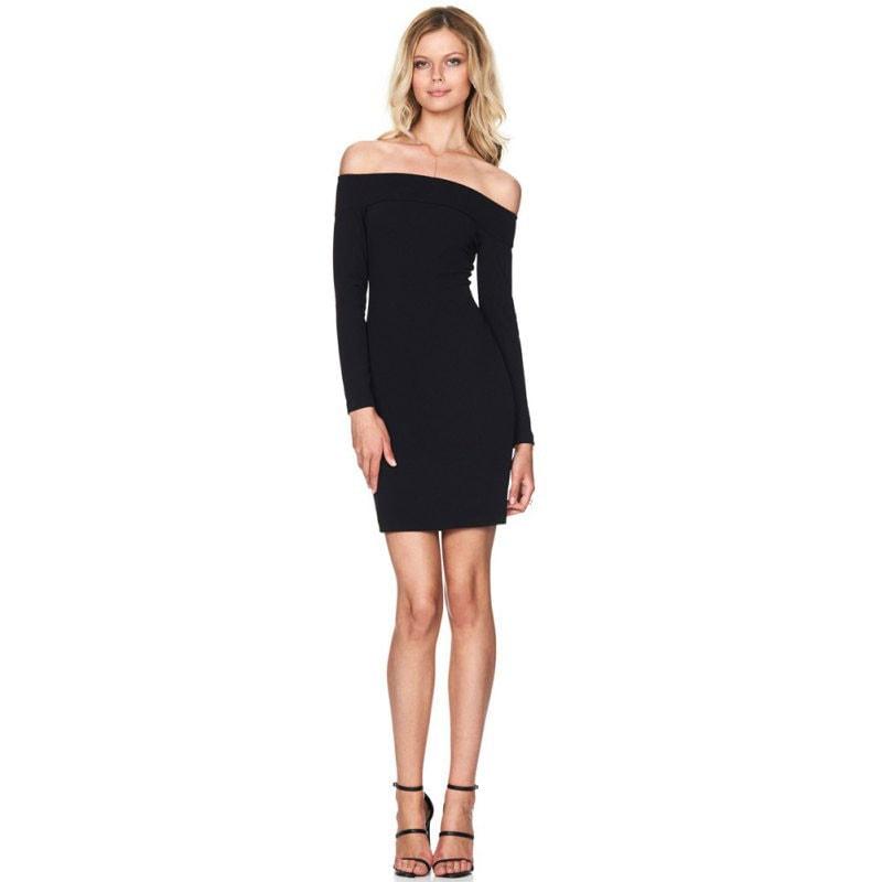 M0270 black2 Mini Dresses maureens.com boutique