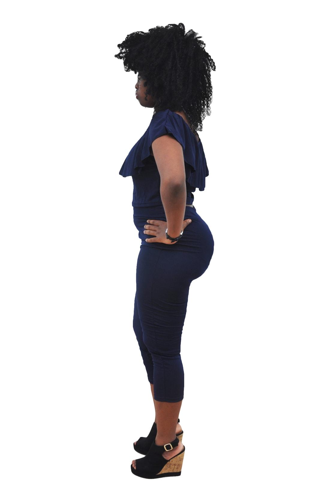 M0271 blue2 Mini Dresses maureens.com boutique