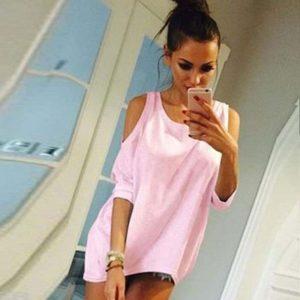 M0273 pink1 Tops Covers Tops Shirts maureens.com boutique
