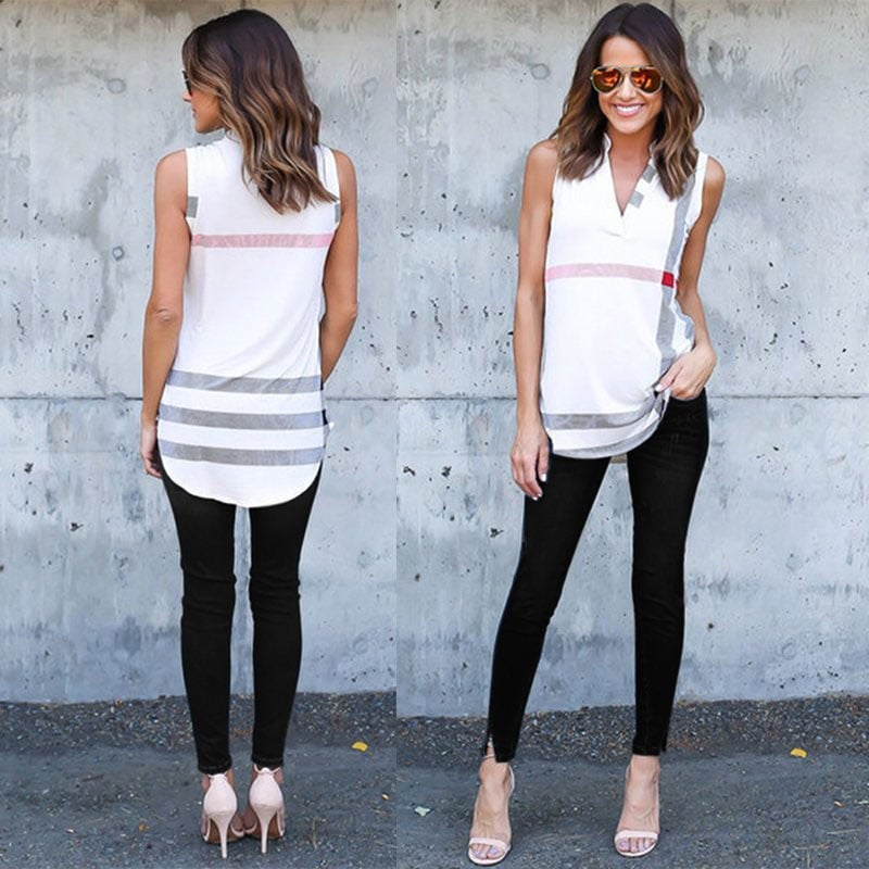 M0274 white4 Tank Tops Tops Shirts maureens.com boutique