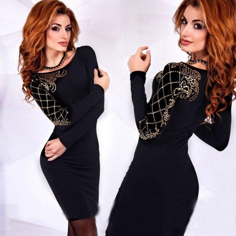 M0275 black1 Party Dresses maureens.com boutique