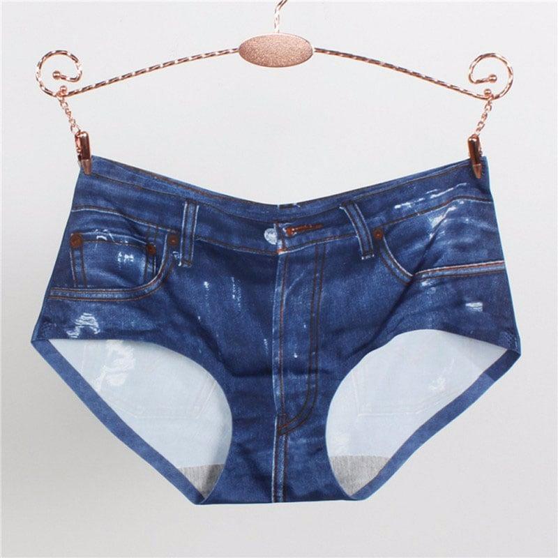 M0277 blue2 Panties Slips Underwear Shapewear maureens.com boutique