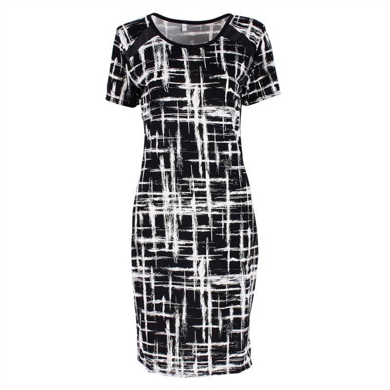 M0280 blackwhite8 Office Evening Dresses maureens.com boutique
