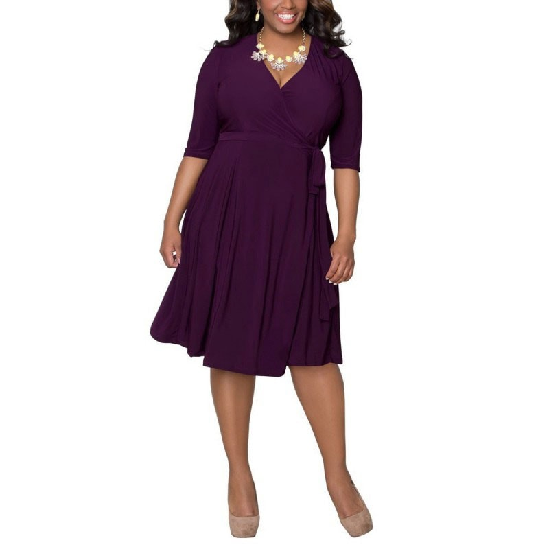 M0281 purple1 Short Sleeve Dresses maureens.com boutique