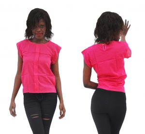 M0284 pink1 High Low Tops Tops Shirts maureens.com boutique
