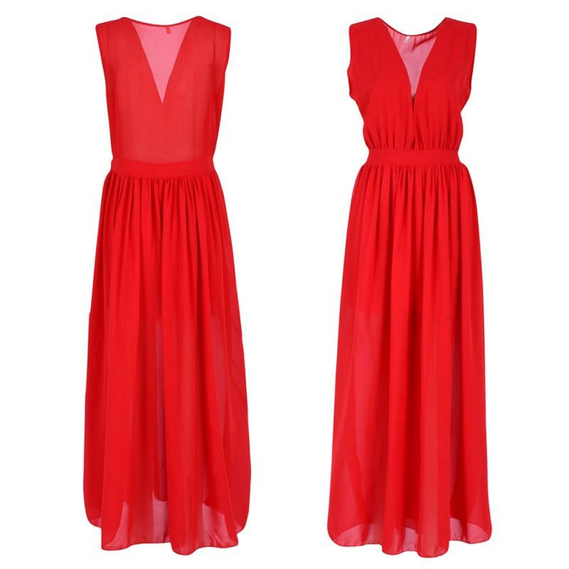 M0285 red4 Maxi Dresses maureens.com boutique