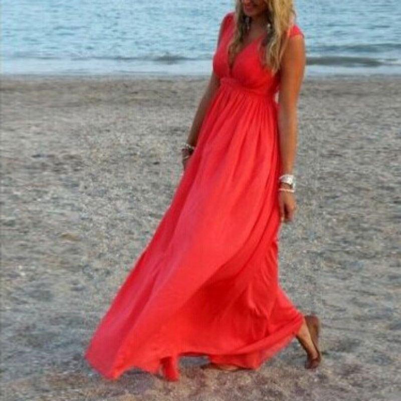M0285 red5 Maxi Dresses maureens.com boutique