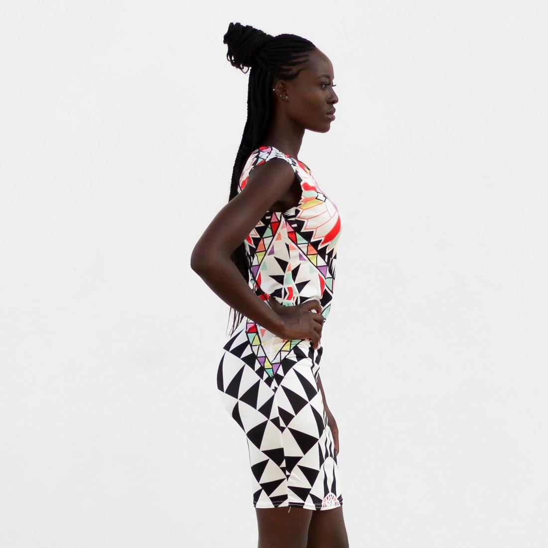 M0288 multicolor12 Bodycon Dresses maureens.com boutique
