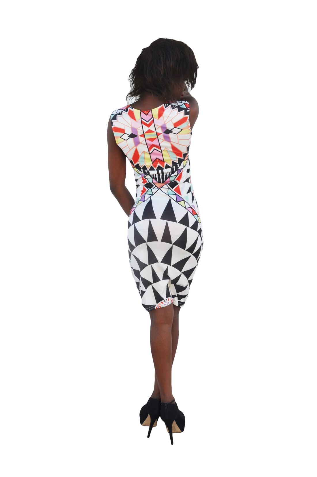 M0288 multicolor2 Bodycon Dresses maureens.com boutique