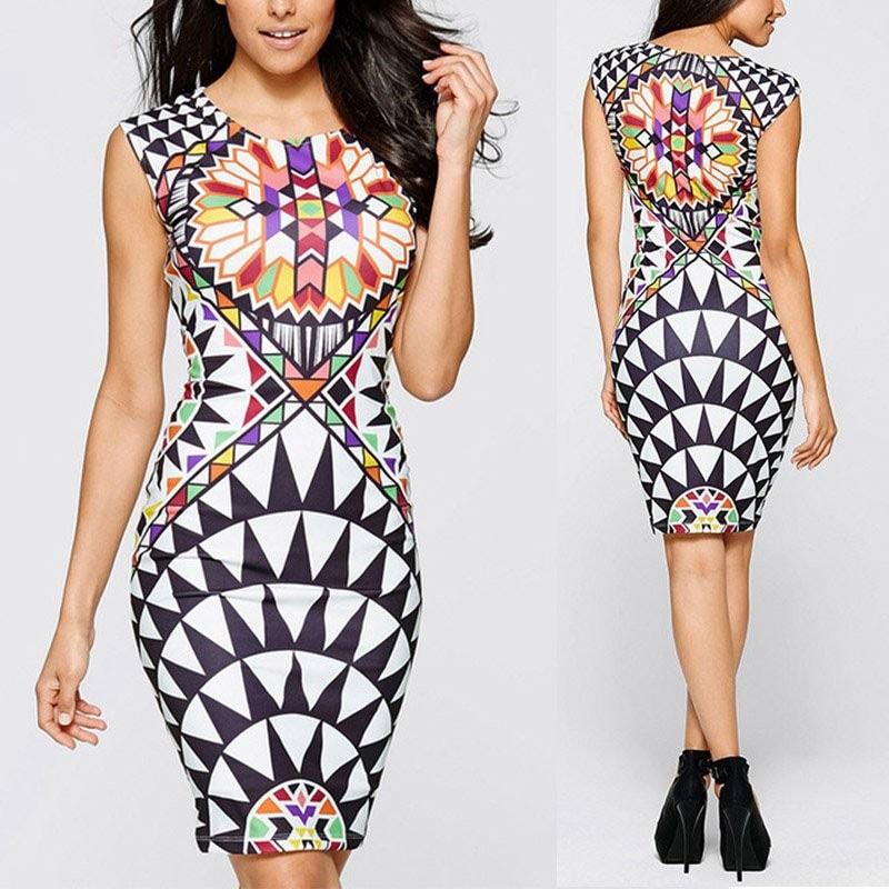 M0288 multicolor3 Bodycon Dresses maureens.com boutique