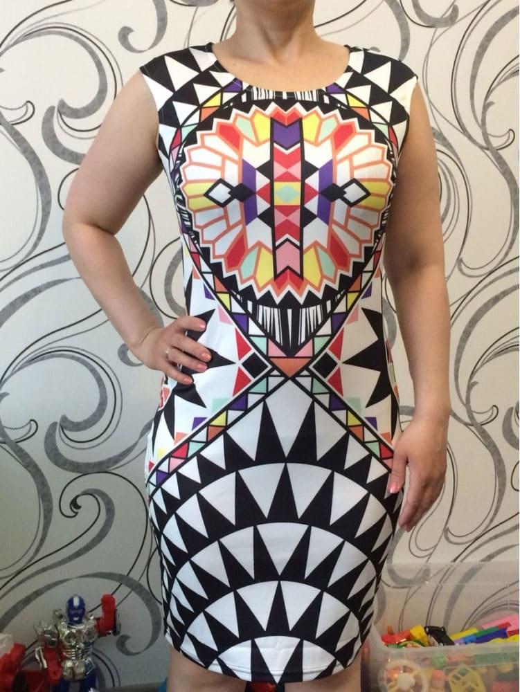 M0288 multicolor7 Bodycon Dresses maureens.com boutique