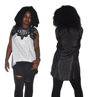 M0289 blackwhite1 Tops Covers Tops Shirts maureens.com boutique