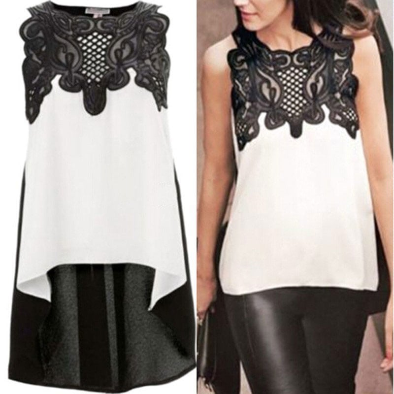 M0289 blackwhite5 Tops Covers Tops Shirts maureens.com boutique