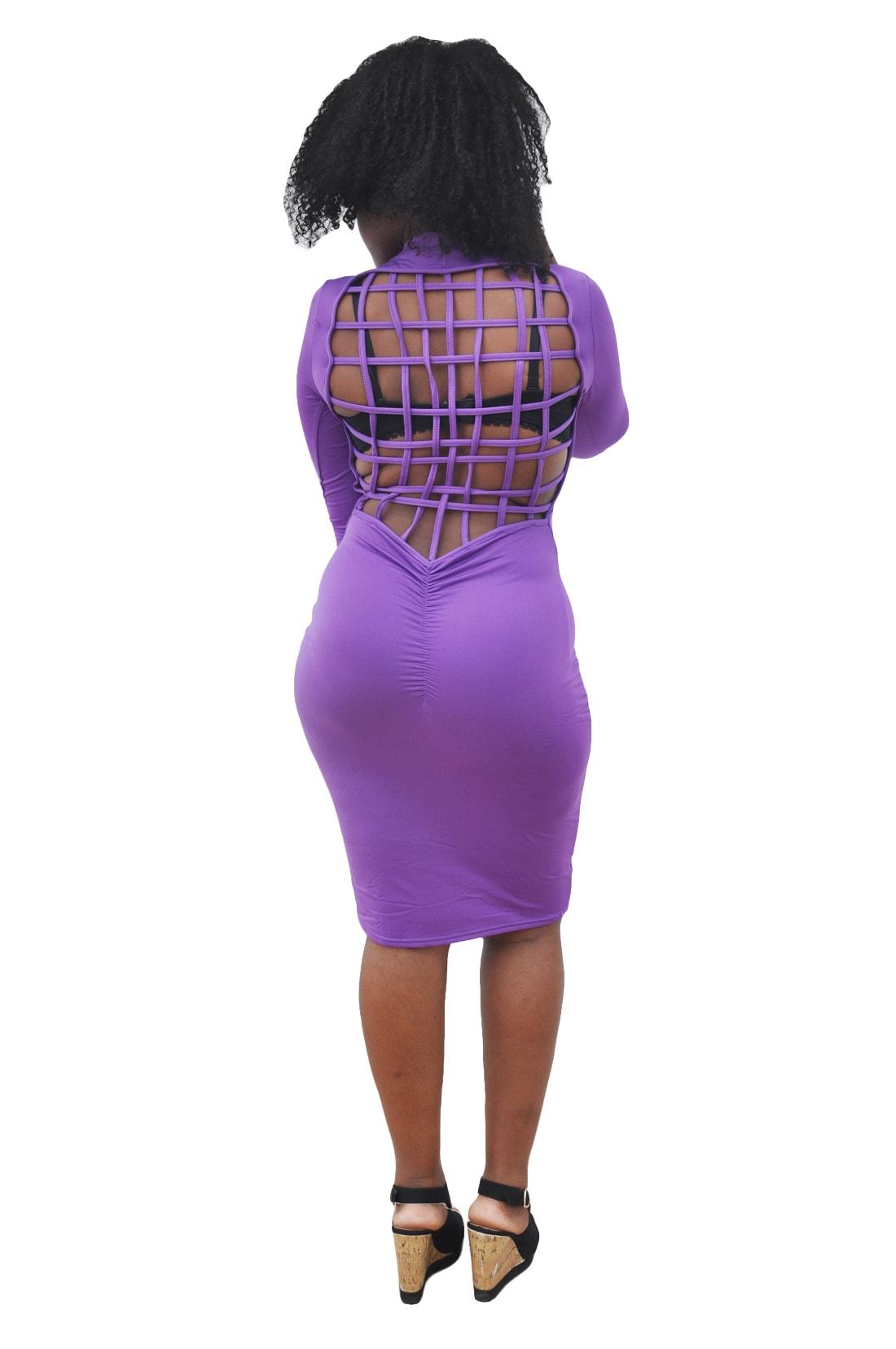 M0291 purple2 Office Evening Dresses maureens.com boutique