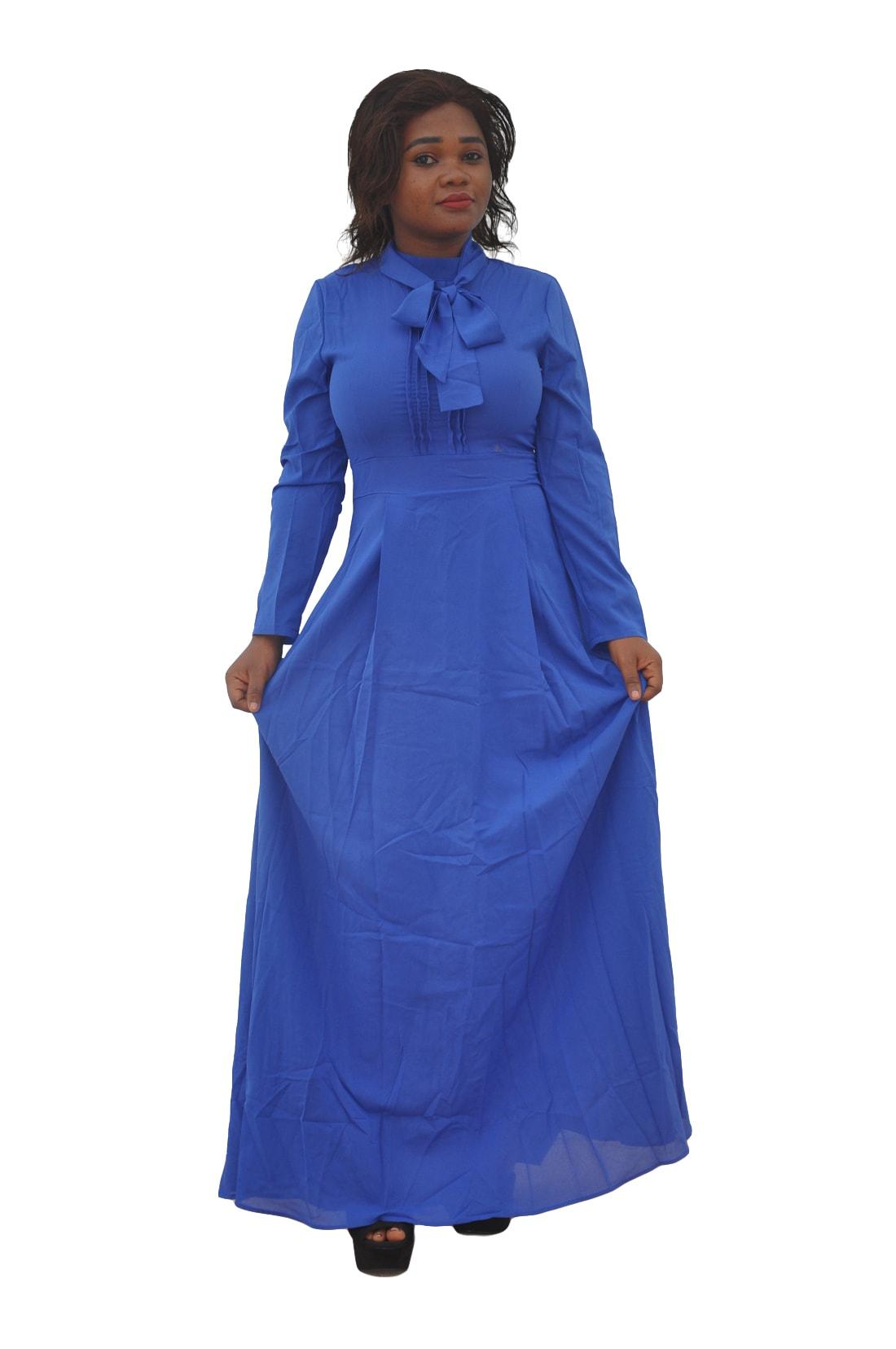 M0293 blue6 Long Sleeve Dresses maureens.com boutique