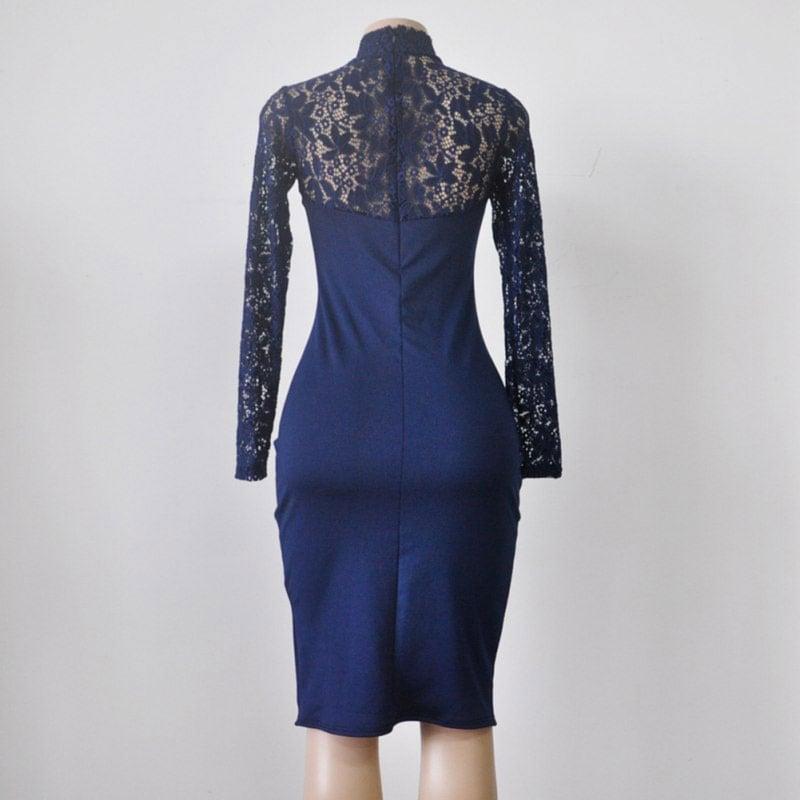 M0295 blue11 Bodycon Dresses maureens.com boutique