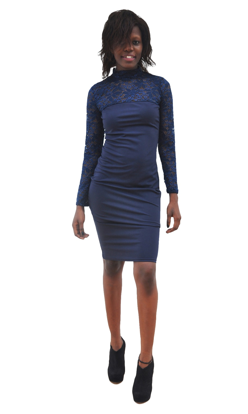 M0295 blue3 Bodycon Dresses maureens.com boutique