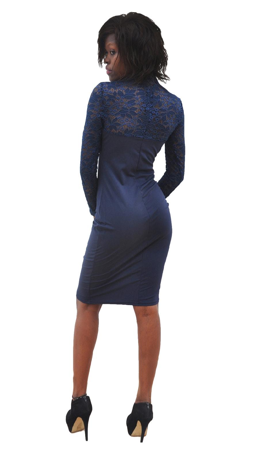 M0295 blue4 Bodycon Dresses maureens.com boutique