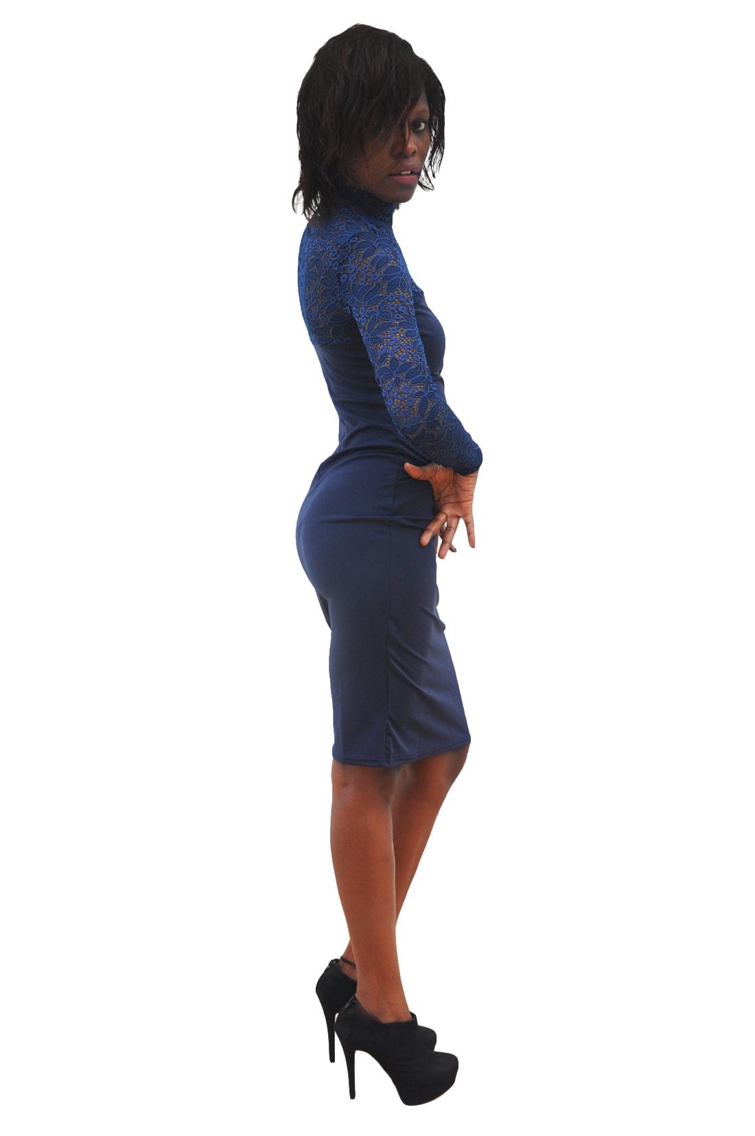 M0295 blue5 Bodycon Dresses maureens.com boutique