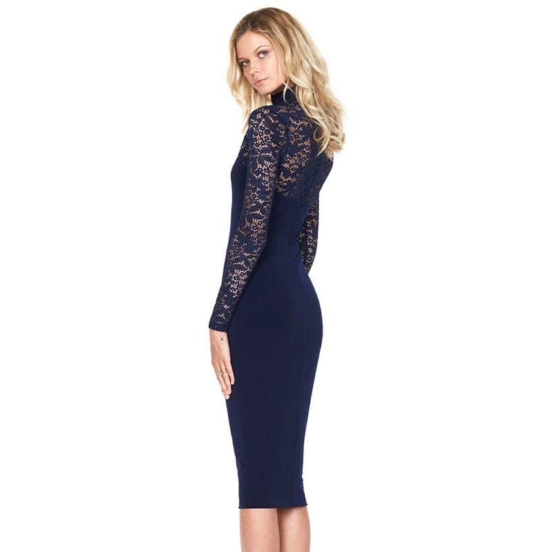M0295 blue6 Bodycon Dresses maureens.com boutique