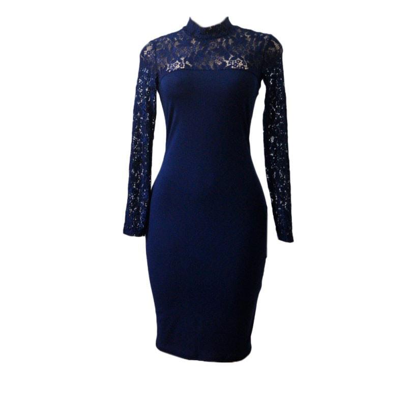 M0295 blue8 Bodycon Dresses maureens.com boutique
