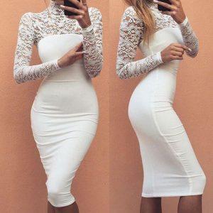 M0295 white1 Midi Medium Dresses maureens.com boutique