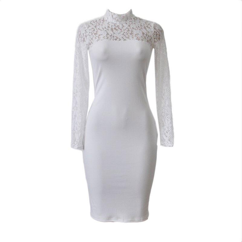 M0295 white2 Midi Medium Dresses maureens.com boutique