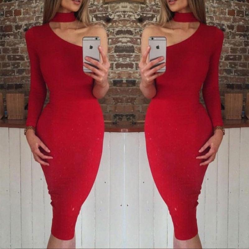 M0296 red5 Party Dresses maureens.com boutique
