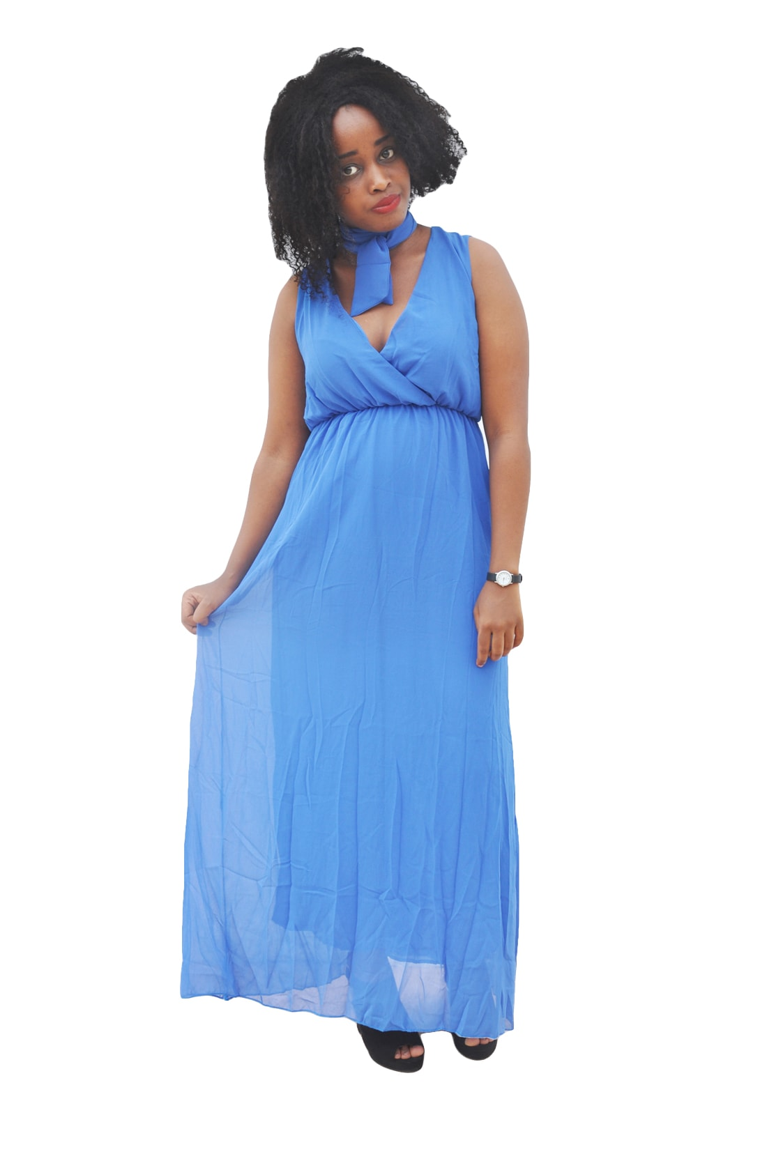 M0297 blue1 Bohemian Dresses maureens.com boutique