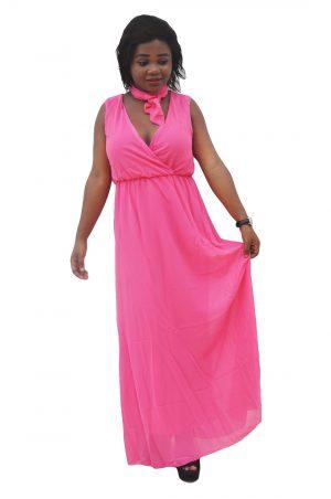 M0297 pink1 Bohemian Dresses maureens.com boutique