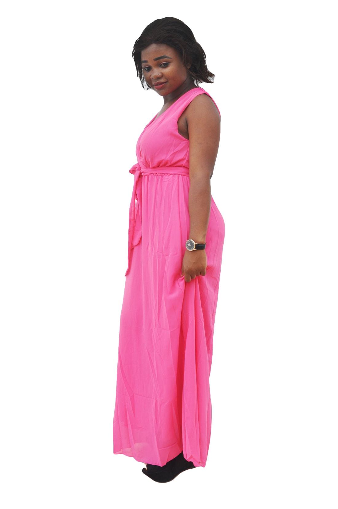 M0297 pink3 Bohemian Dresses maureens.com boutique