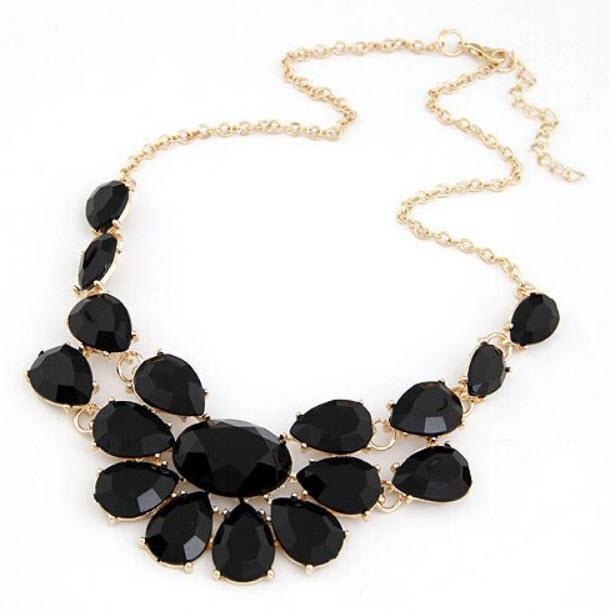M0298 black1 Jewelry Accessories Necklaces Chokers maureens.com boutique