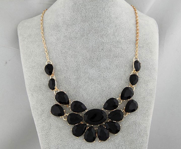 M0298 black2 Jewelry Accessories Necklaces Chokers maureens.com boutique