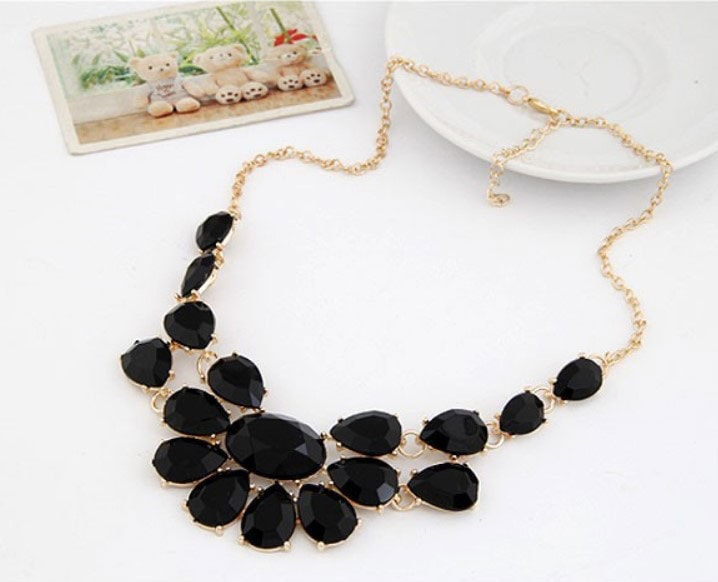 M0298 black3 Jewelry Accessories Necklaces Chokers maureens.com boutique