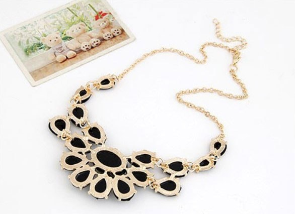 M0298 black4 Jewelry Accessories Necklaces Chokers maureens.com boutique