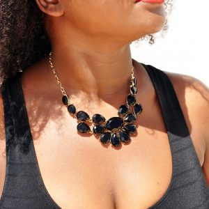 M0298 black6 Jewelry Accessories Necklaces Chokers maureens.com boutique