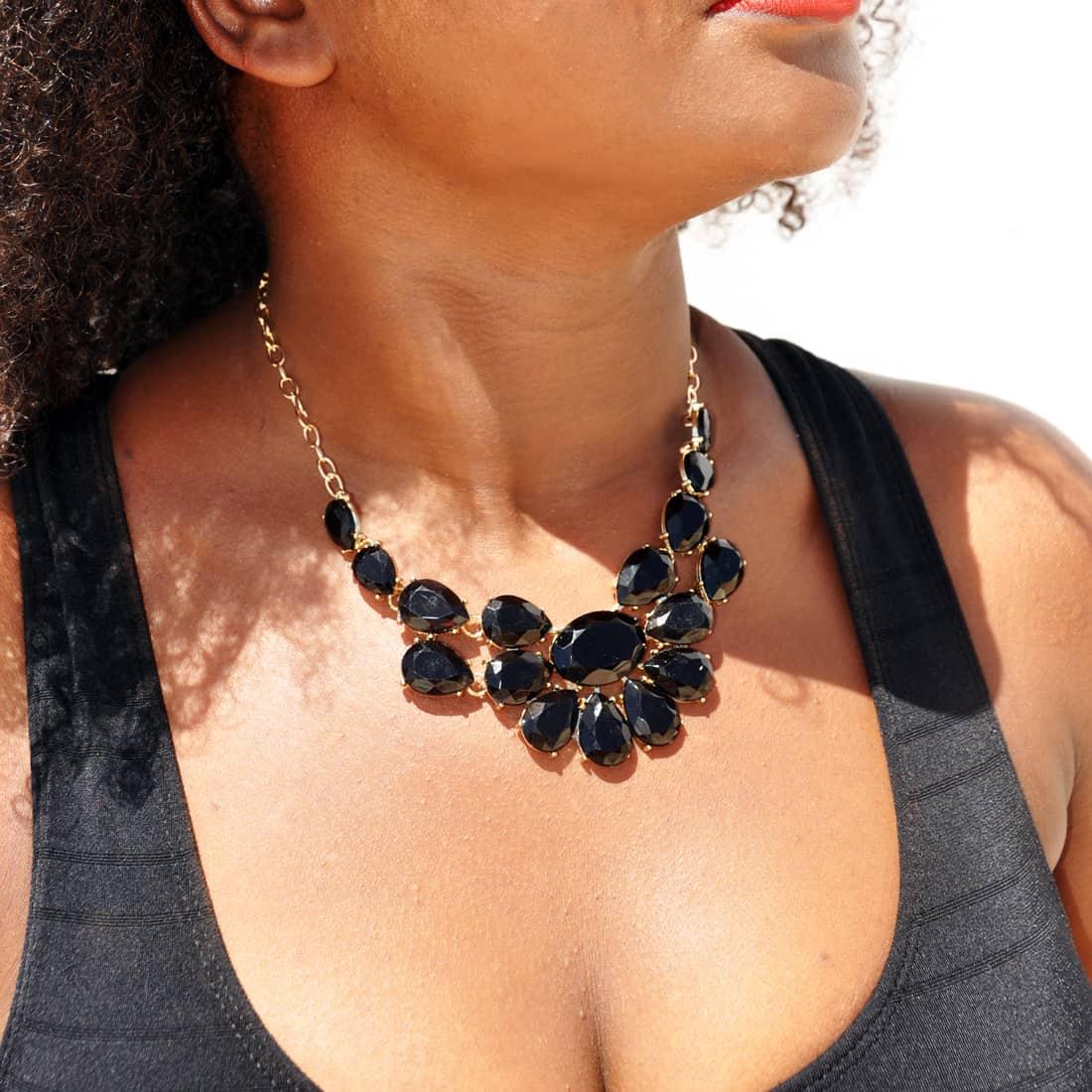 M0298 black6 Jewelry Accessories Necklaces Chokers maureens.com boutique