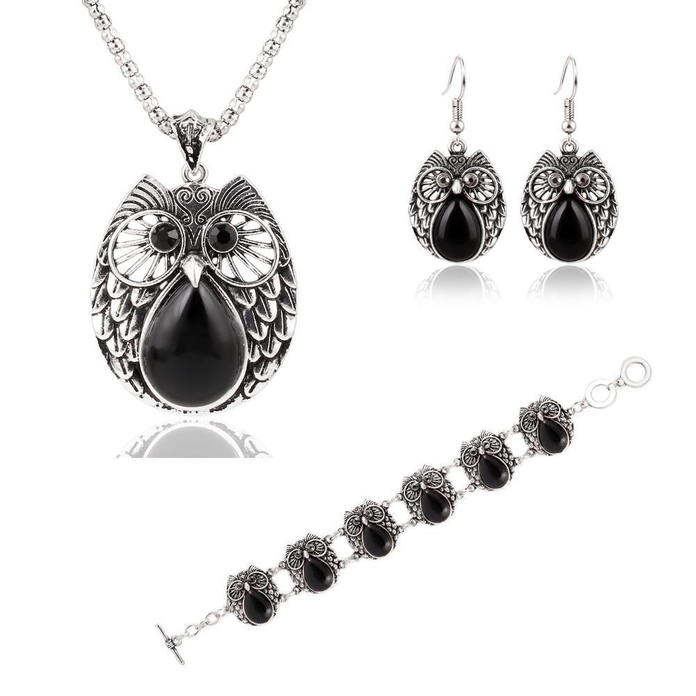 M0300 black1 Jewelry Accessories Jewelry Sets maureens.com boutique