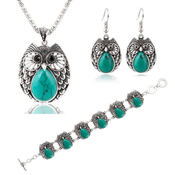 M0300 skyblue1 Jewelry Accessories Jewelry Sets maureens.com boutique