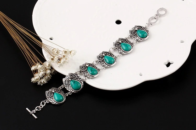 M0300 skyblue4 Jewelry Accessories Jewelry Sets maureens.com boutique