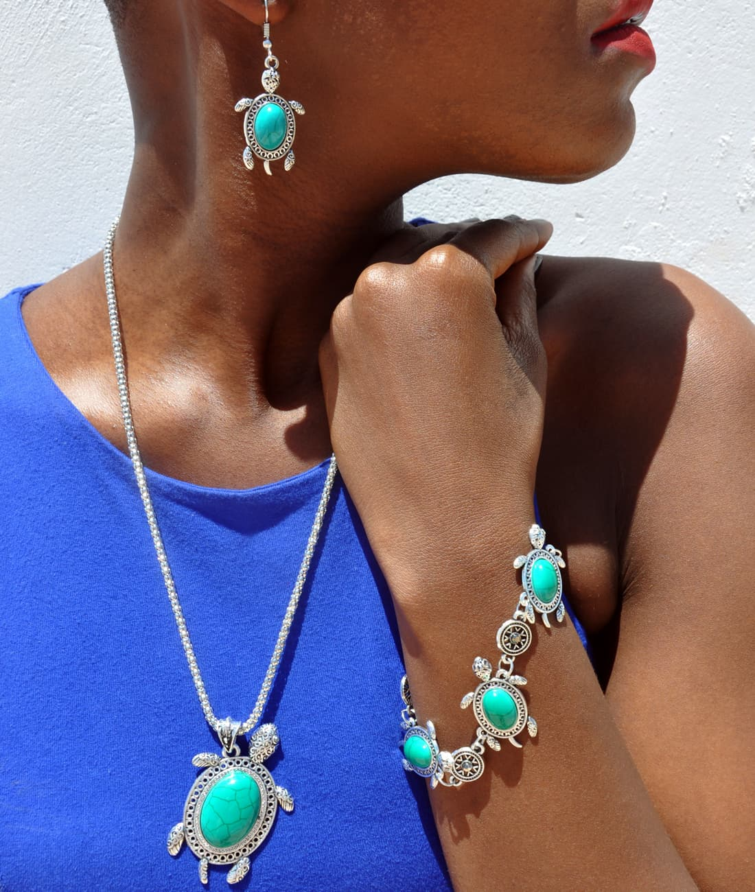 M0301 skyblue14 Jewelry Accessories Jewelry Sets maureens.com boutique
