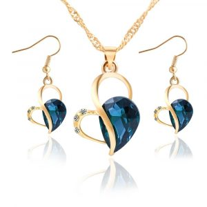 M0303 blue1 Jewelry Accessories Jewelry Sets maureens.com boutique