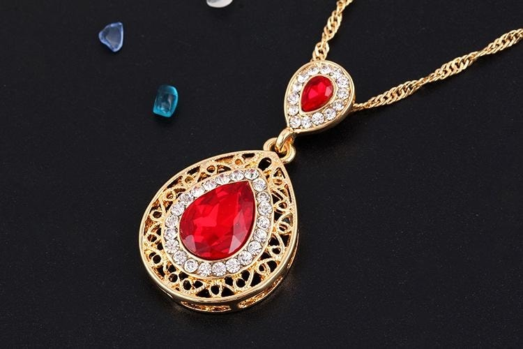 M0304 red2 Jewelry Accessories Jewelry Sets maureens.com boutique