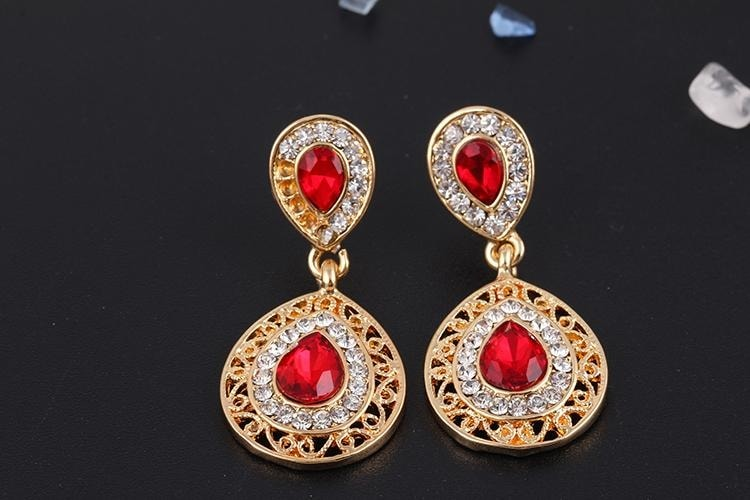 M0304 red4 Jewelry Accessories Jewelry Sets maureens.com boutique