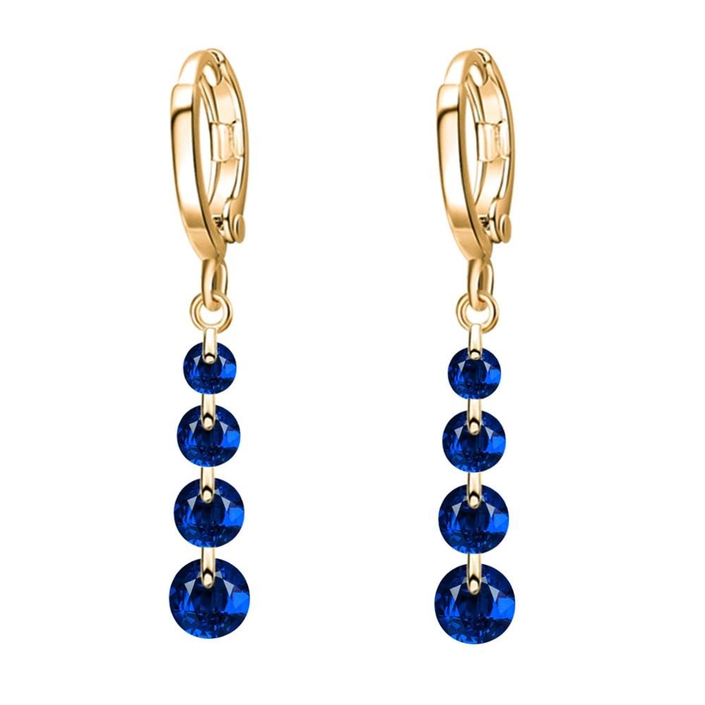 M0306 goldblue1 Jewelry Accessories Earrings maureens.com boutique