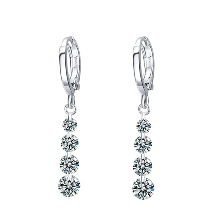 M0306 silverwhite1 Jewelry Accessories Earrings maureens.com boutique