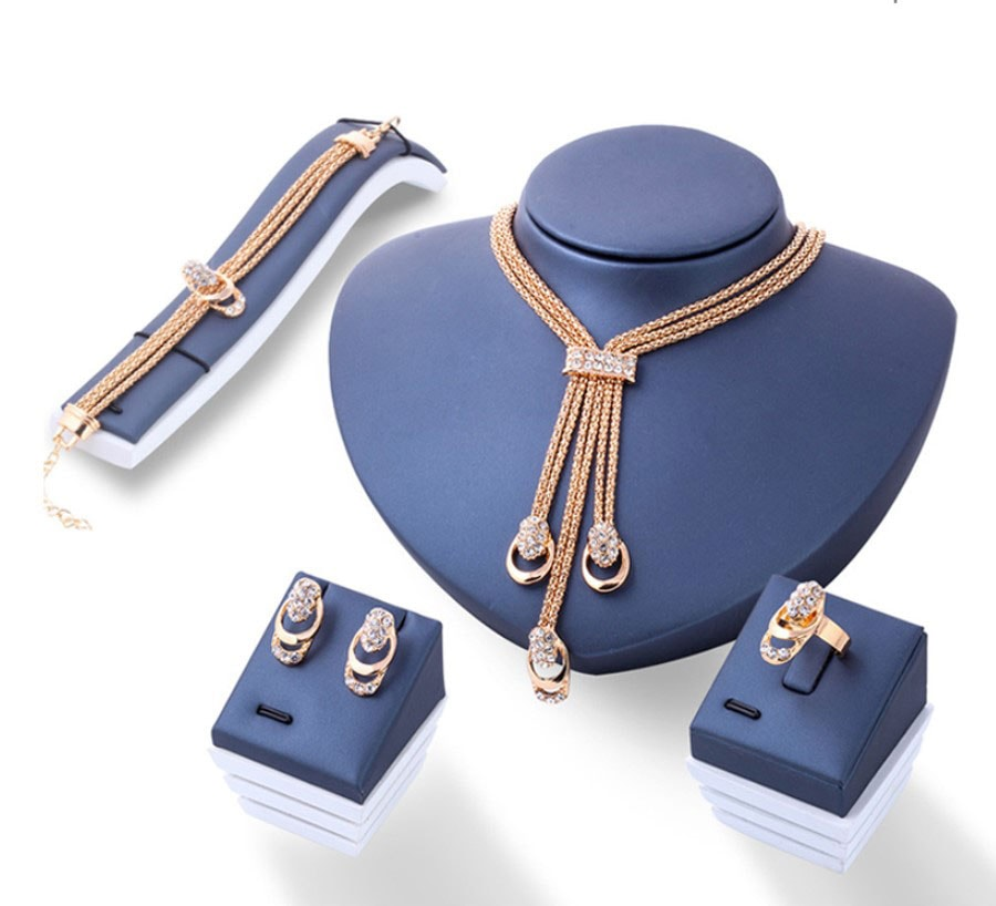 M0309 gold1 Jewelry Accessories Jewelry Sets maureens.com boutique
